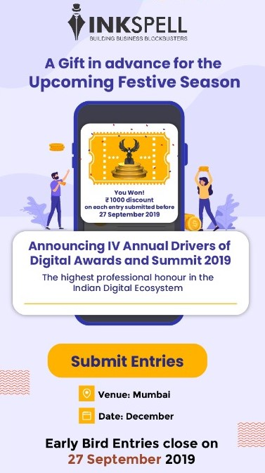 Industry 4.0 gears up for DOD 4.0 – the fourth edition of the annual Drivers of Digital Awards and Summit